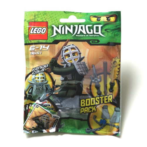 LEGO® Ninjago 9551 - Kendo Cole Booster Pack
