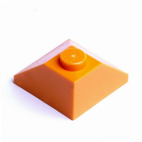 LEGO® Dach-Eckstein 2x2 / 45° orange