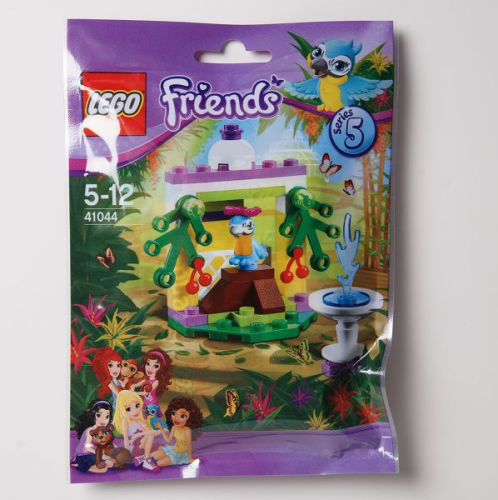 LEGO Friends 41044 - Serie 5: Papageiengarten