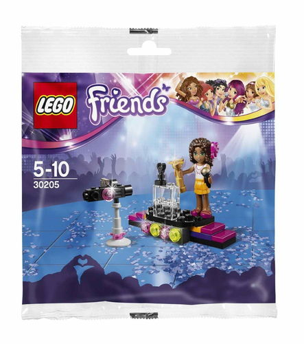 LEGO® Friends Popstar 30205 - Roter Teppich mit Andrea