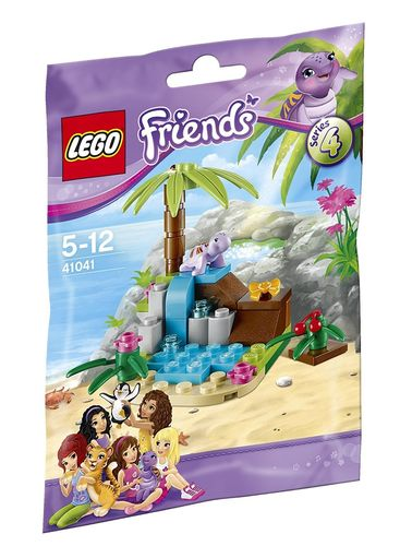 LEGO® Friends 41041 - Serie 4: Schildkrötenparadies