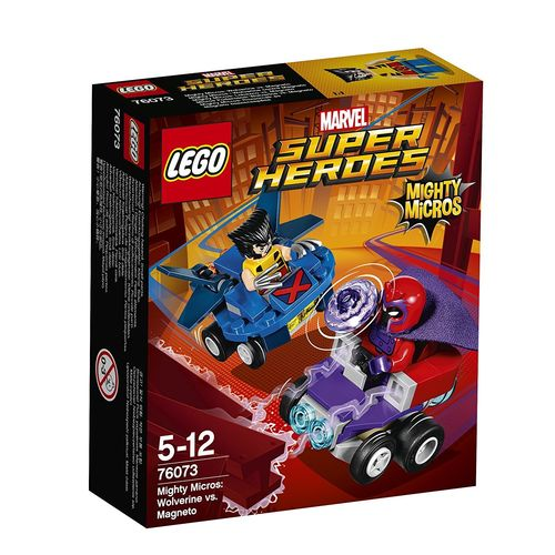 LEGO® Marvel Super Heroes 76073 - Mighty Micros: Wolverine vs. Magneto