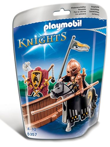 PLAYMOBIL® Knights - Turnierkämpfer Wildpferde-Clan